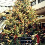 Large Christmas Tree in Mall